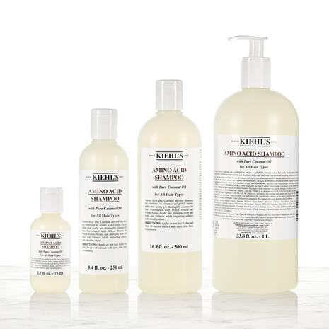 Shampooing aux acides amines